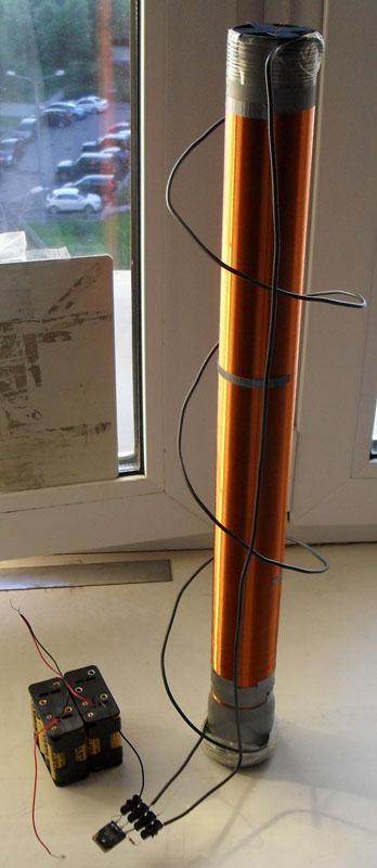 Пробовал менять резисторы - ничего не меняется, только греться перестает если увеличивать.  Пробовал схему на полевом.