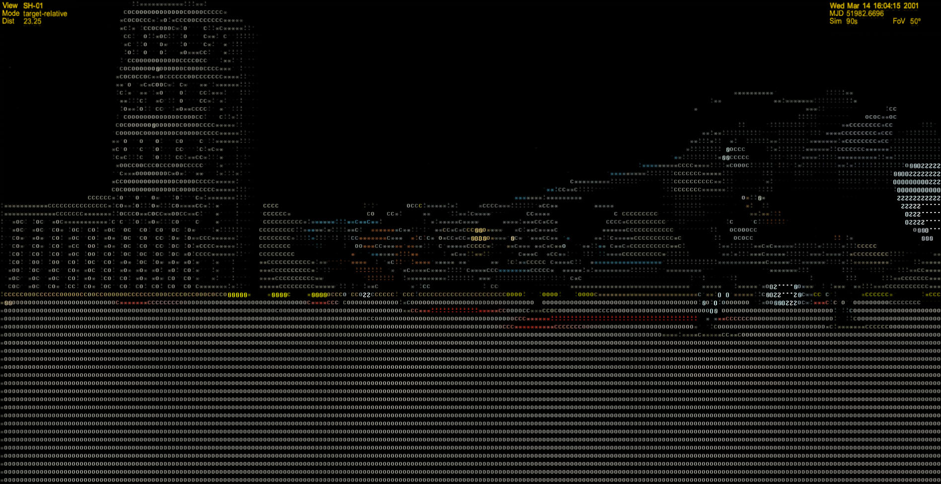 One Line Ascii Art New Year : Retrotechtacular the history of ansi and ascii art hackaday